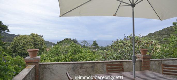 Isola d'Elba – Casale caratteristico con vista mare